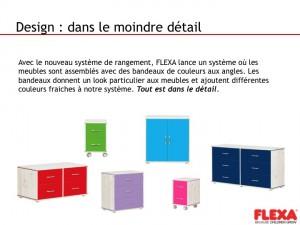 Nouvelles couleurs rangements Flexa