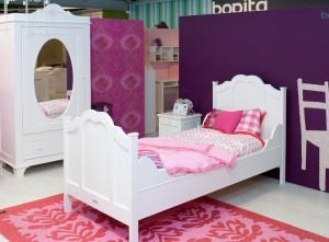 Romantic par Bopita, la chambre enfant pour petite fille sage