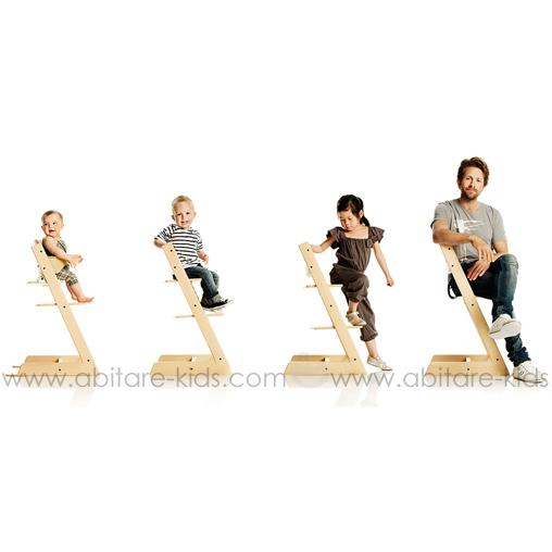 Stokke ses produits phares abitare kids for Chaise haute tripp trapp grise
