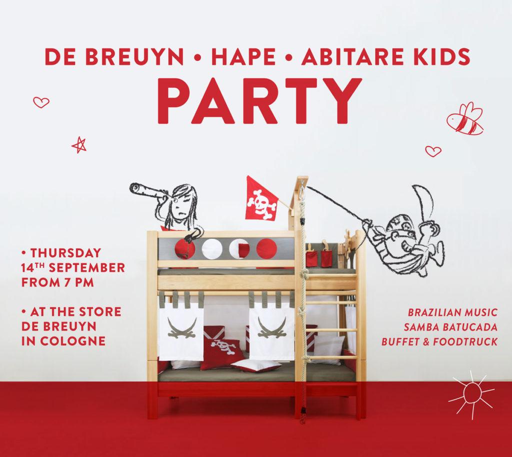 De Breuyn Hape Abitare Kids Party Abitare Kids