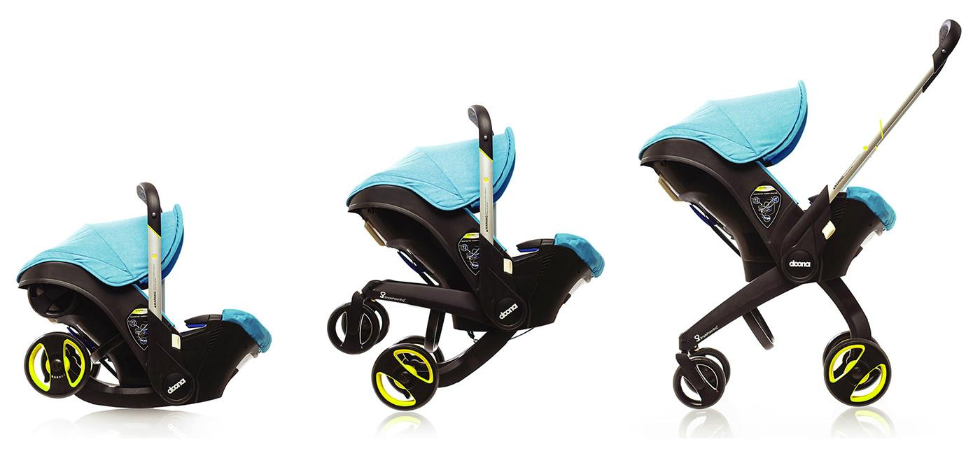 manipulation poussette siège auto bébé groupe 0+