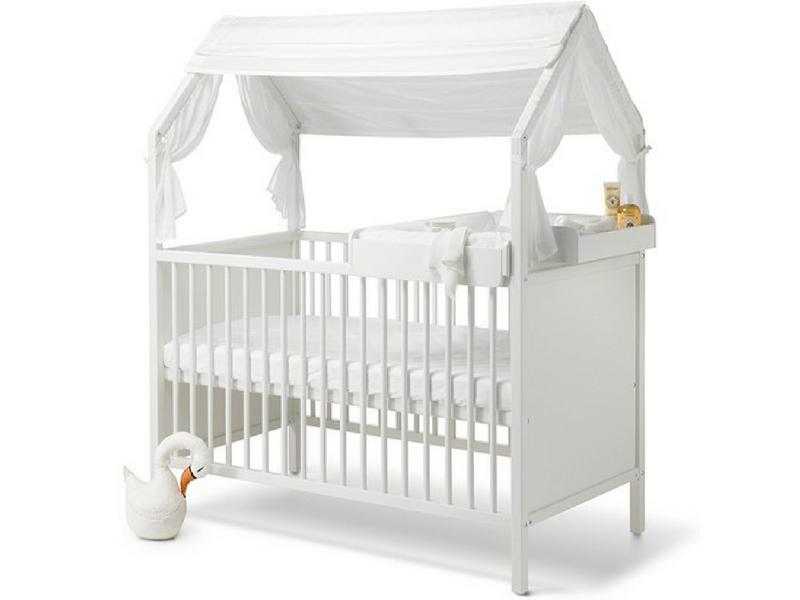le lit volutif b b par stokke une maison dans la maison abitare kids. Black Bedroom Furniture Sets. Home Design Ideas