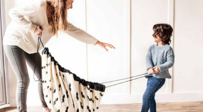 Le sac de rangement – tapis de jeu Play&Go