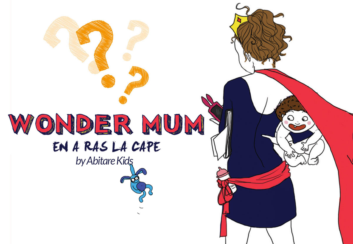 WONDER MUM by Abitare Kids
