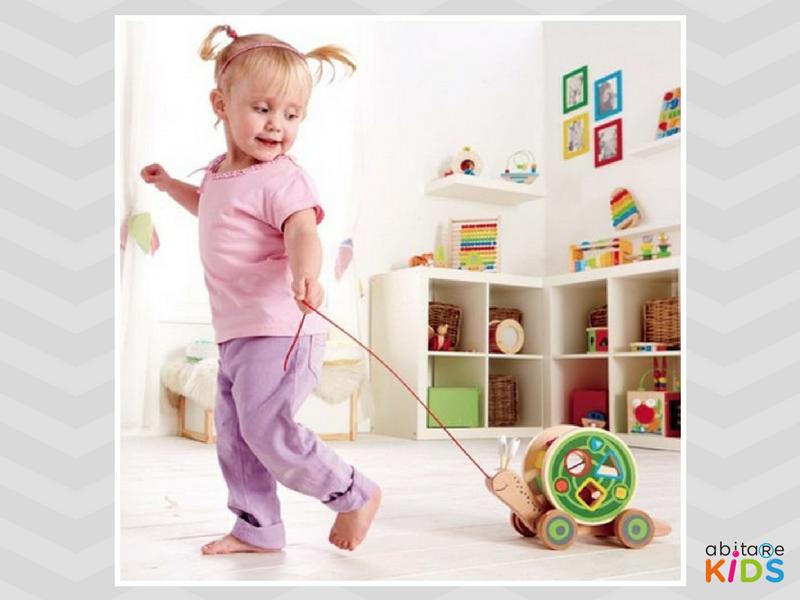 jouet à tirer enfant hape abitare kids