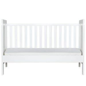 lit bebe 70 x 140 baby flex bopita blanc abitare kids