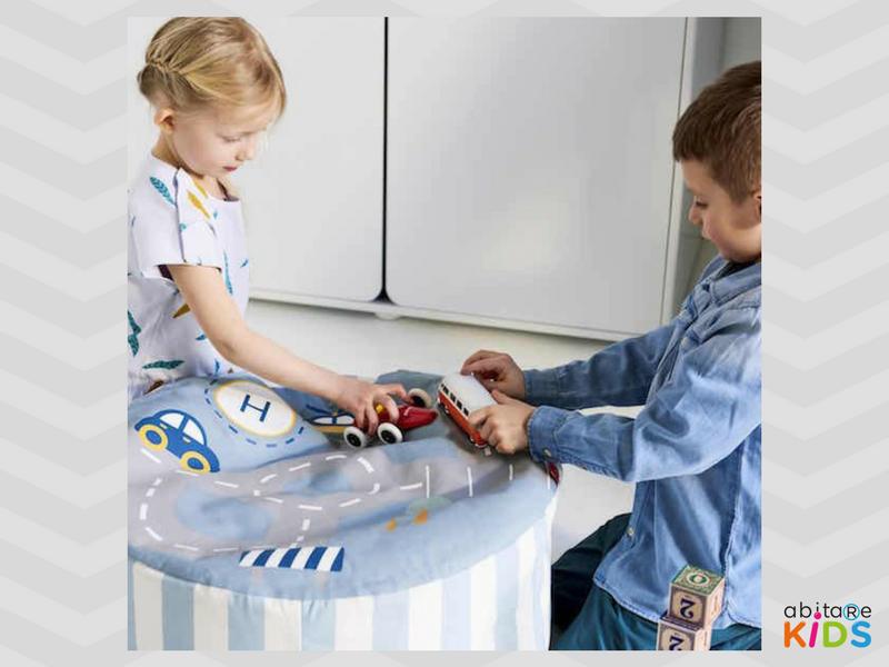 pouf enfant transport flexa abitare kids