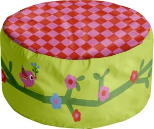 pouf enfant new princess flexa abitare kids