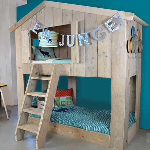 le lit cabane warchild un must have pour votre enfant abitare kids. Black Bedroom Furniture Sets. Home Design Ideas