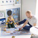rideaux lit cabane textile transport flexa abitare kids