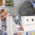 cabane jeu enfant textile transport flexa abitare kids