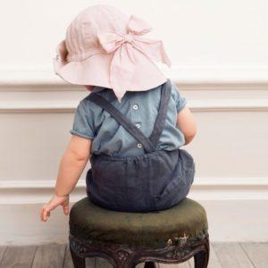 chapeau elodie details poxder pink chapeau solaire bebe abitare kids