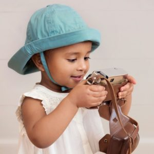 chapeau elodie detail pretty petrol chapeau solaire abitare kids