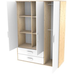 collection nast flexa armoire xl abitare kids