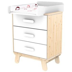 commode à langer collection nast flexa abitare kids