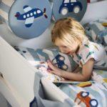 coussin dos lit enfant textile transport flexa abitare kids