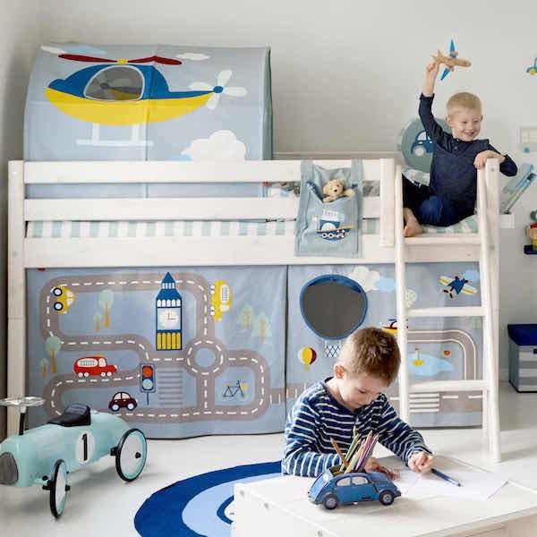 textile transport flexa cabane jeu enfant abitare kids