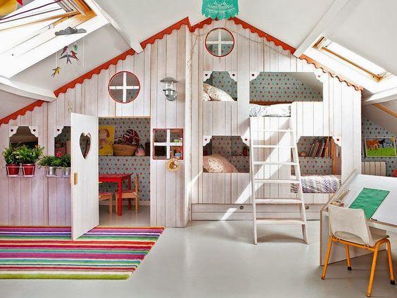 cabane maisonnette indoor