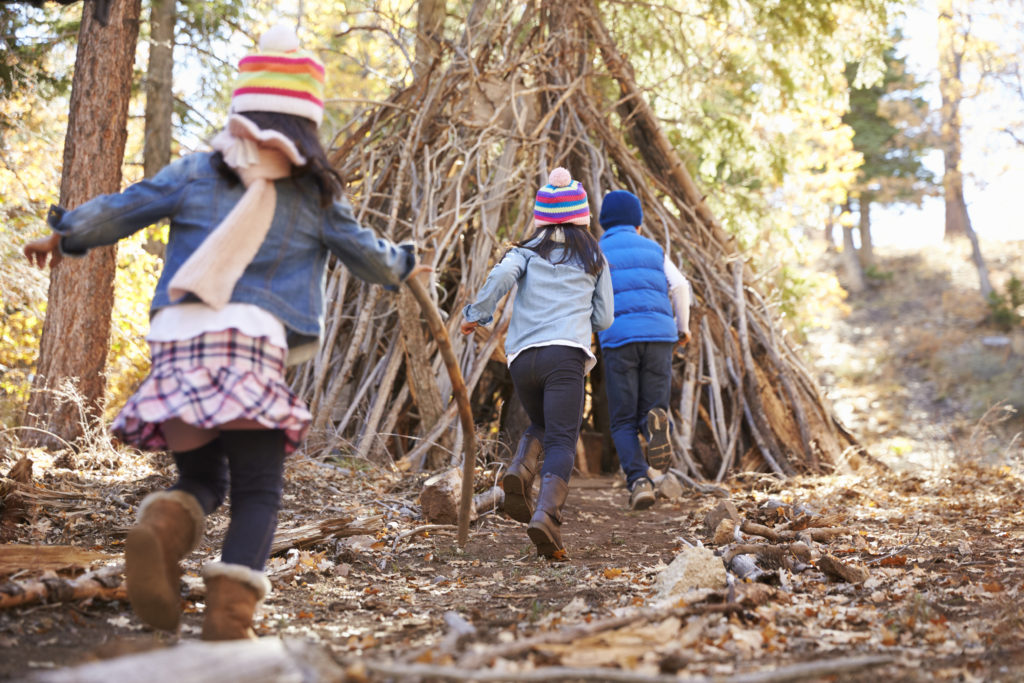 activité automne plein air cabane