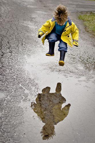 activité automne plein air pluie