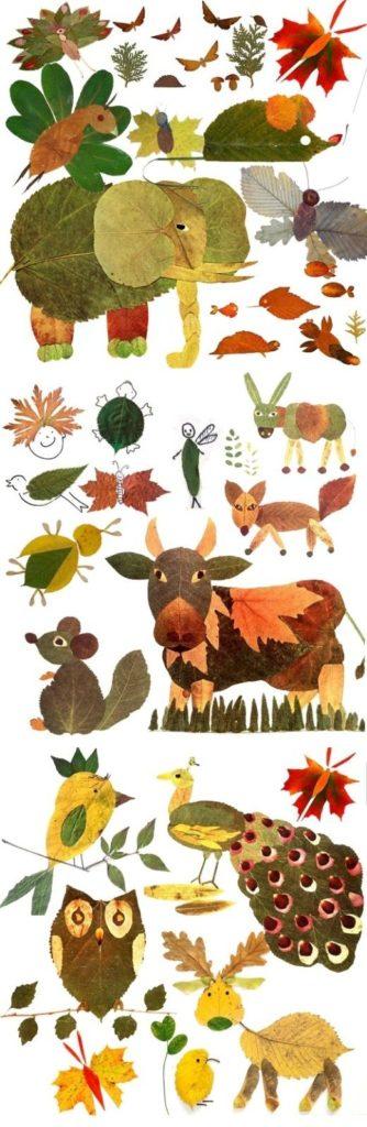 activite automne enfant feuille morte