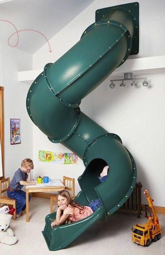 toboggan intérieur tube design