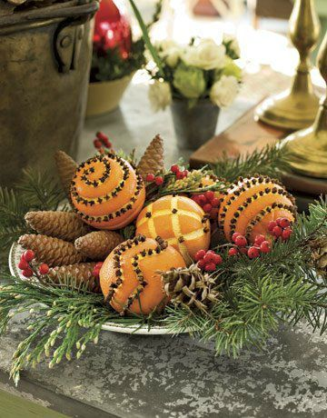 deco de noel groumand orange