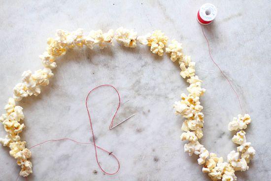 guirlande popcorn