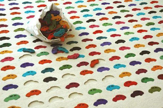tapis de jeux enfant design