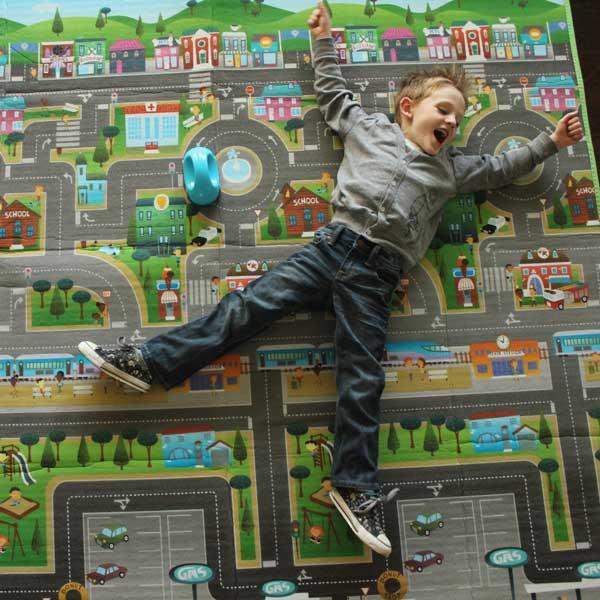 tapis de jeux enfant prince lion heart