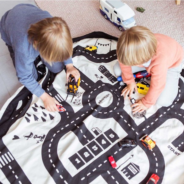 tapis de jeux enfant sac play and go