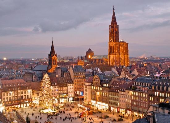 Alsace voyage Père Noël