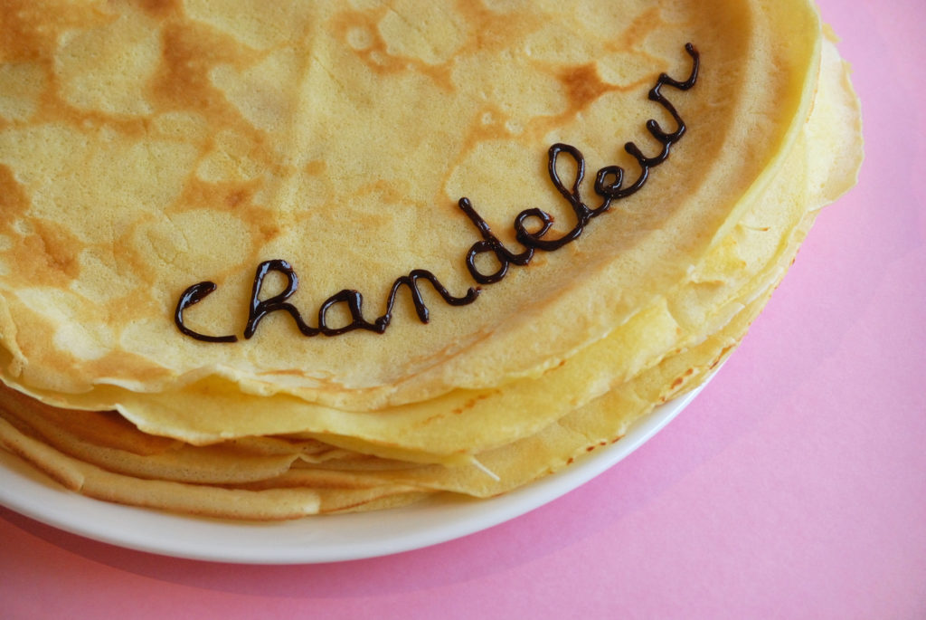 chandeleur crepe party
