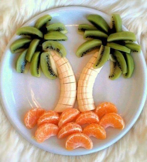 dessert de saison simple et funky enfant