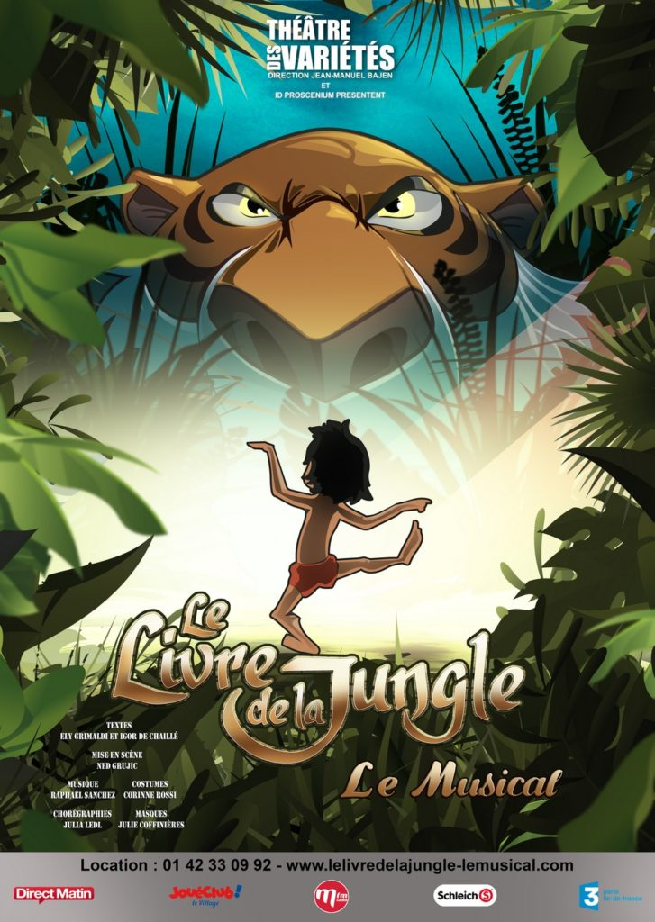 le livre de la jungle spectacle enfant