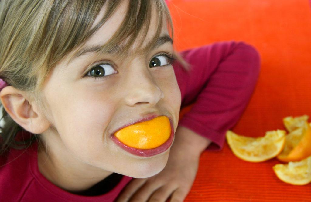 repas simple et amusant enfant