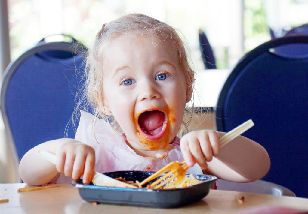 repas simples et amusants enfants