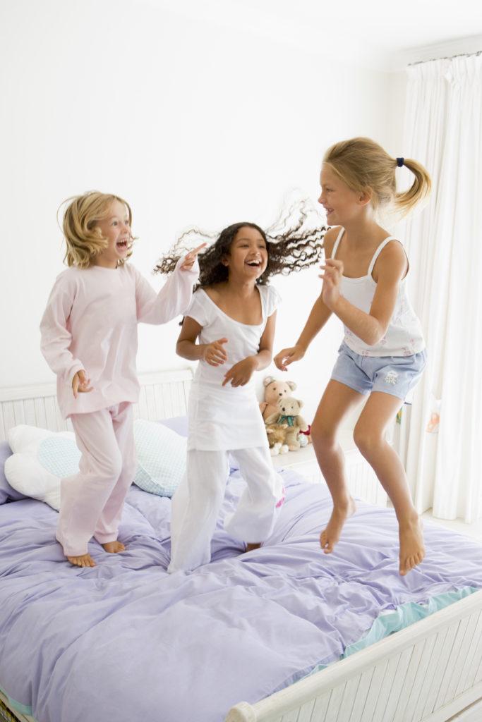 soirée pyjama jeux enfant
