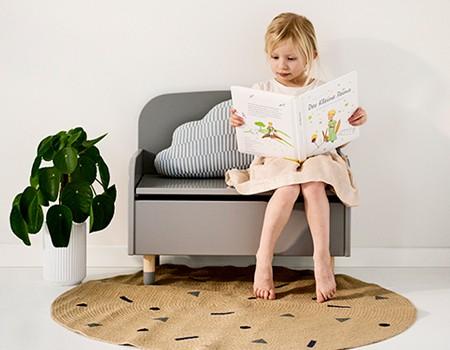 banc Flexa coin lecture enfant