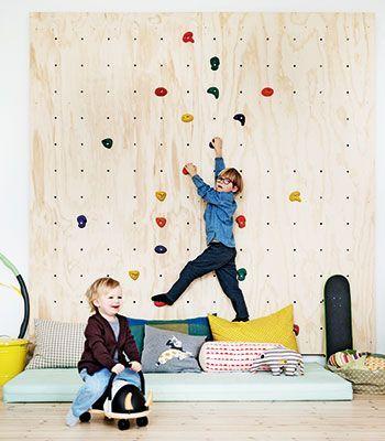 mur escalade chambre enfant