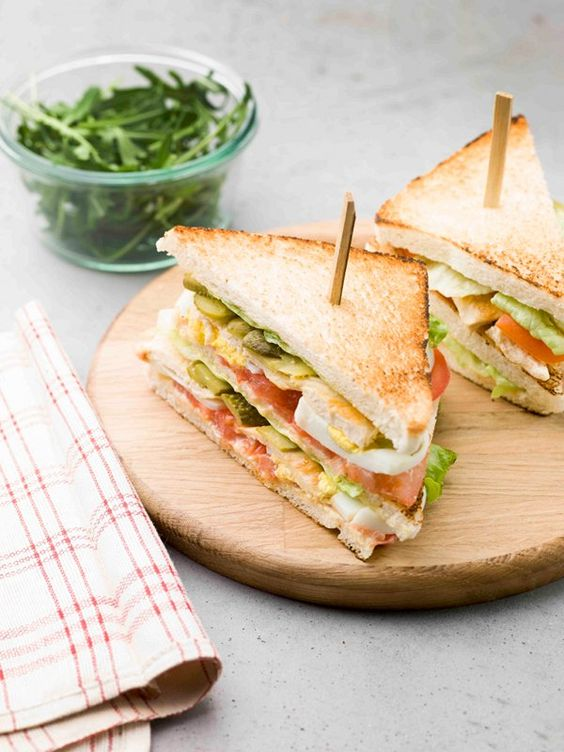 club sandwiches healthy