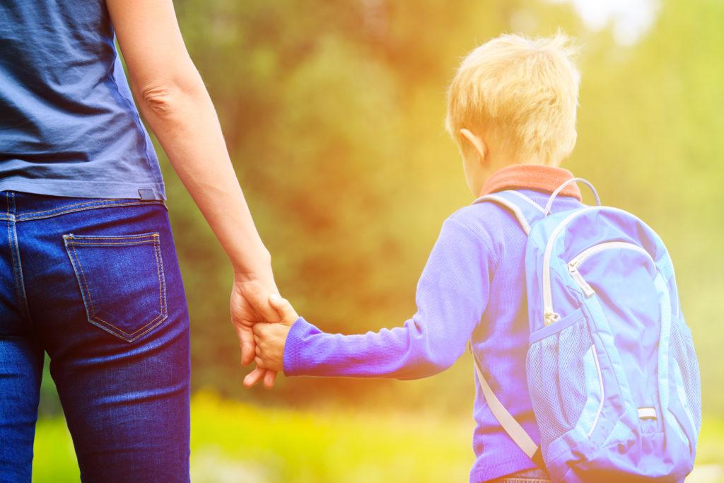 premiere sortie scolaire jeunes enfants