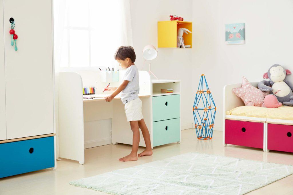 bureau colorflex deco chambre d'enfant