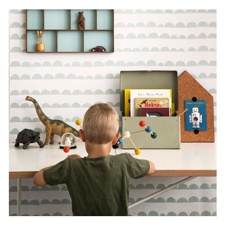 deco chambre d'enfant papier peint