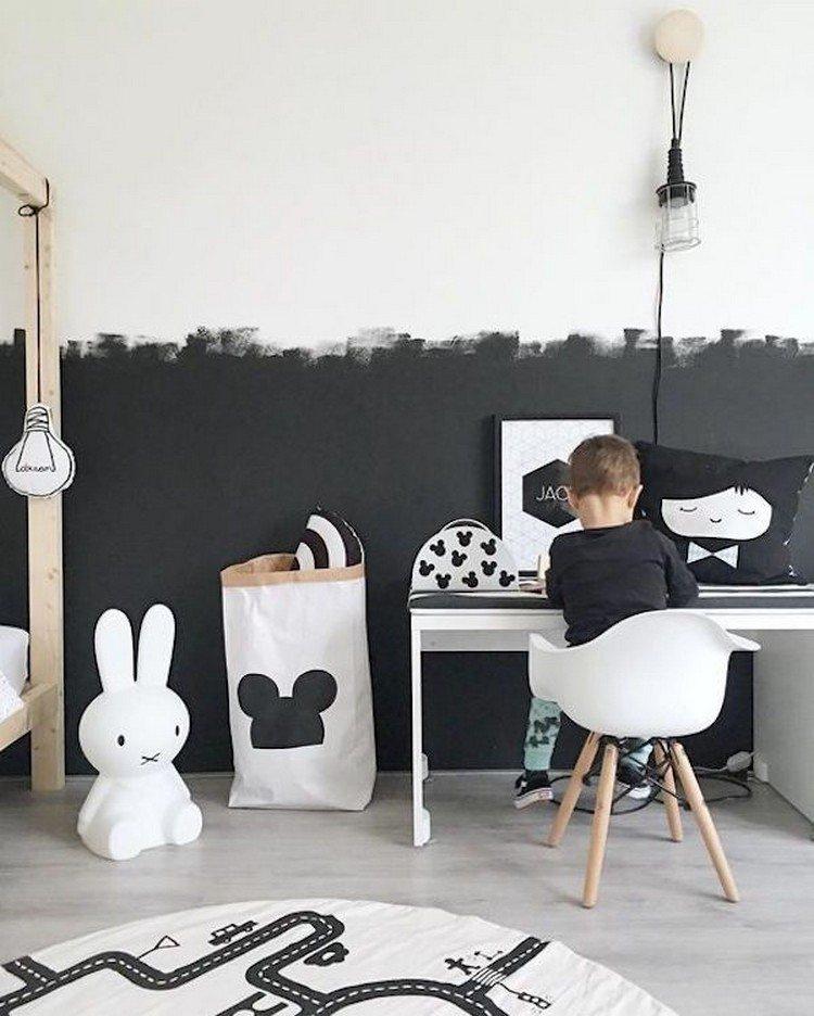 deco chambre d'enfant pour la rentrée peinture