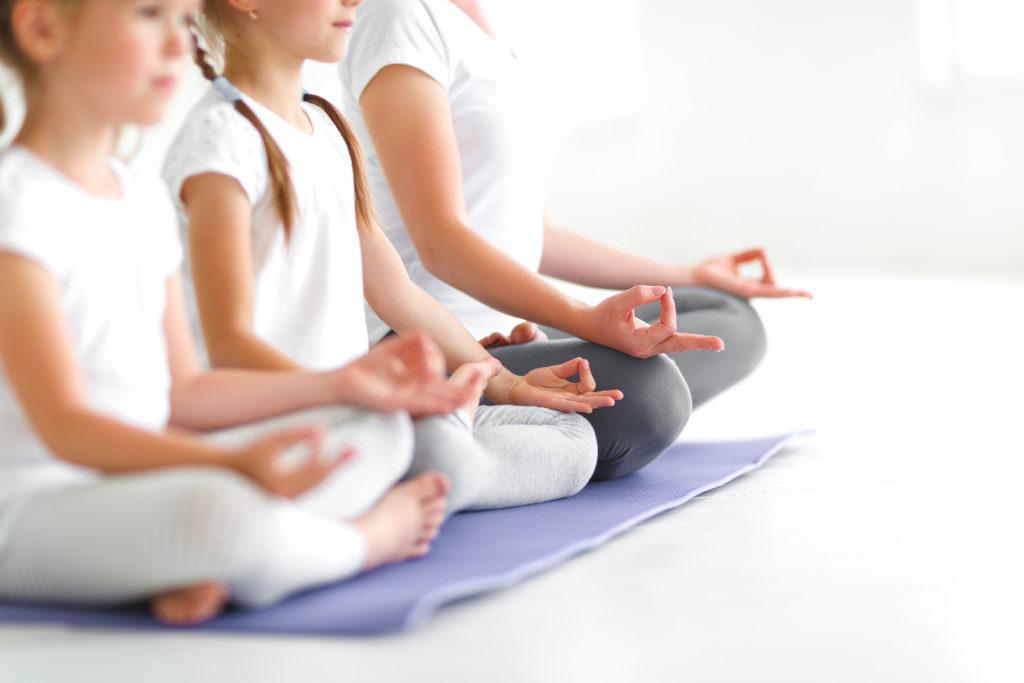 méditation mère enfant