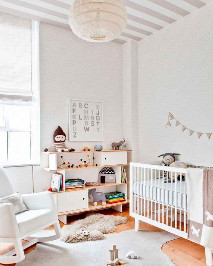 papier peint deo chambre enfant plafond