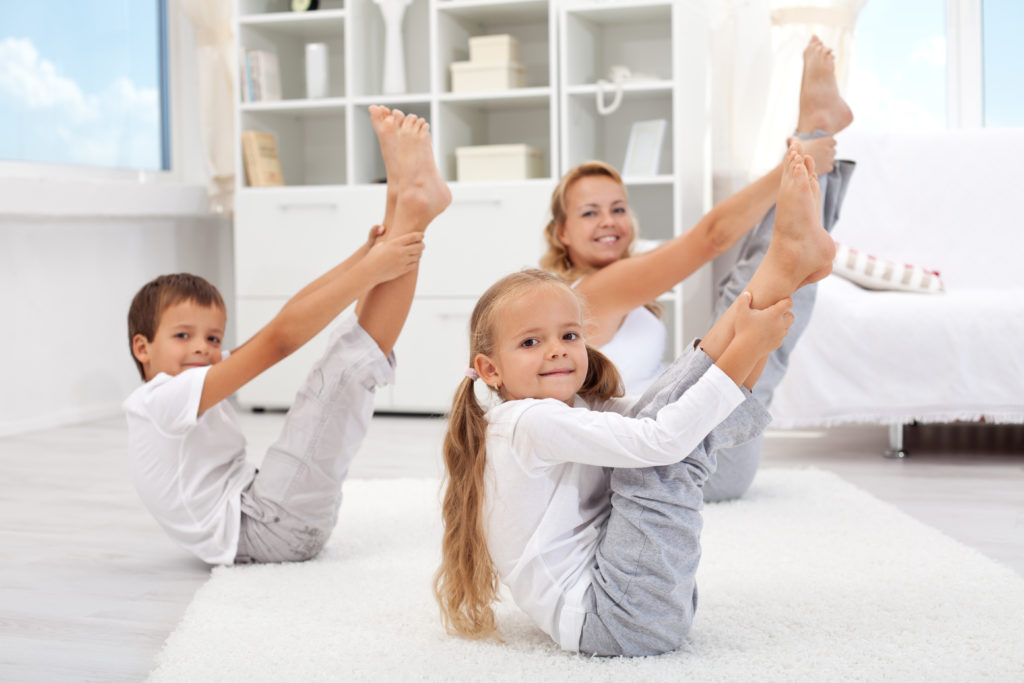 yoga mère enfants