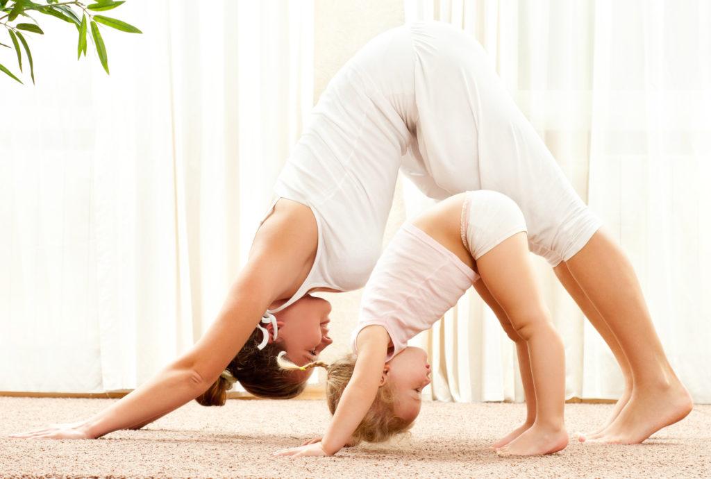 yoga mère enfant