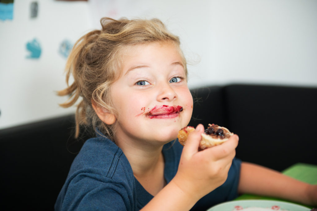 petit déjeuner kidsfriendly